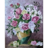 Picture of Roses in Vase