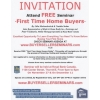 """First Time Home Buyers""Seminars"
