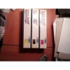 Цветные Картриджи для Лазерного принтера Okidata C3400.  Нераспакованные.  Magenta(малиновый) ,  Жёлтый,  Чёрный.  Все за  $75